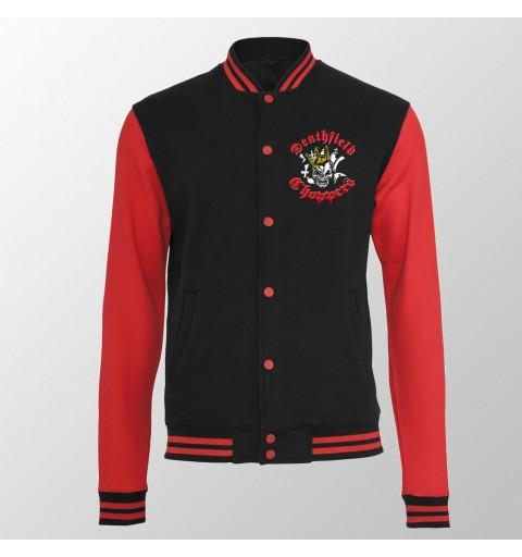 Varsity-Jacket // Skull...