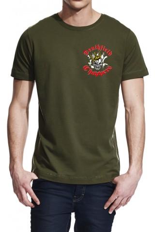 T-Shirt // DFC Skull-King Gold (beidseitig bedruckt)