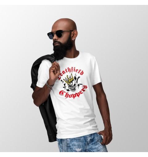 T-Shirt // Skull King Gold