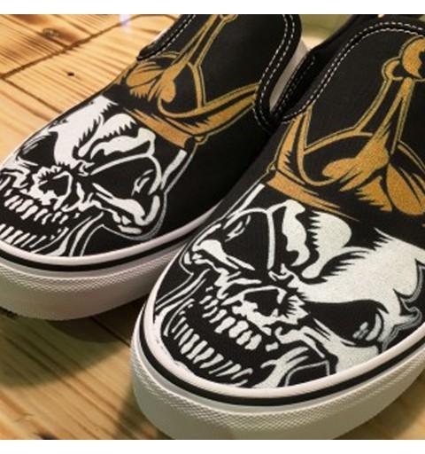 VANS // Skull-King Gold